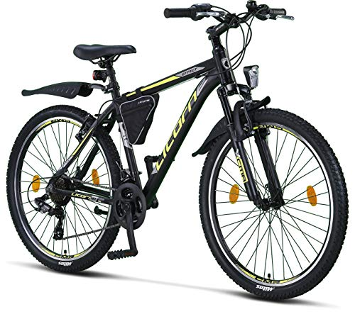 Licorne Bike Effect Premium Mountainbike in 26 Zoll Aluminium, Fahrrad...