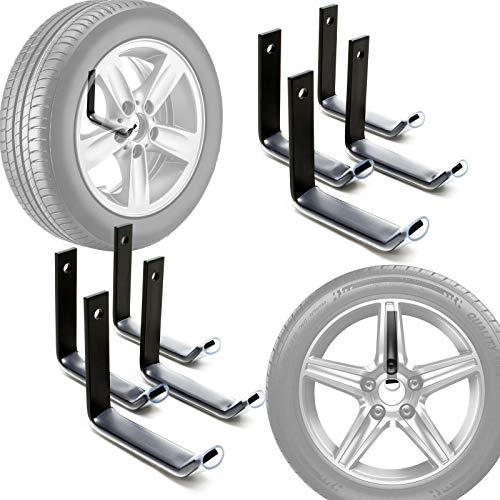 Reifenhalter Wandmontage für 8 Reifen Zubehör für Reifen...