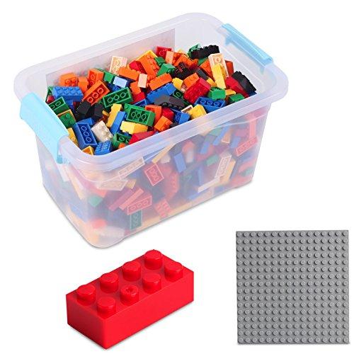 Bausteine - 520 Stück, Kompatibel zu Allen Anderen Herstellern -...