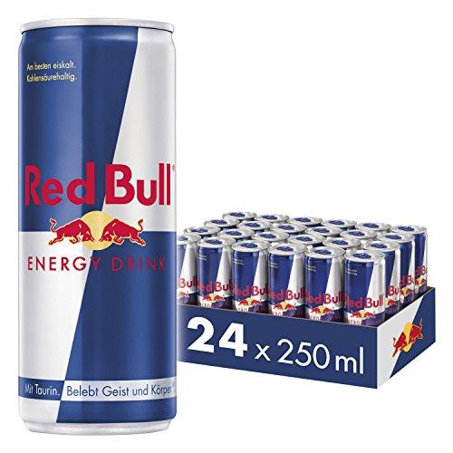 Red Bull Energy Drink Dosen Getränke 24er Palette, EINWEG (24 x 250...