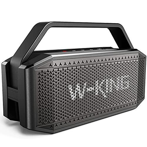 W-KING 60W Bluetooth Lautsprecher, Tragbarer Musikbox, Fantastischer...