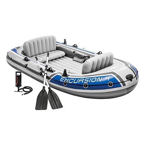 Intex Excursion 4 Set Schlauchboot - 315 x 165 x 43 cm - 3-teilig -...