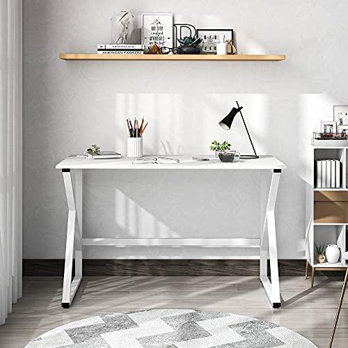 Schreibtisch, Computertisch mit K-förmigen Tischbeine, großer...