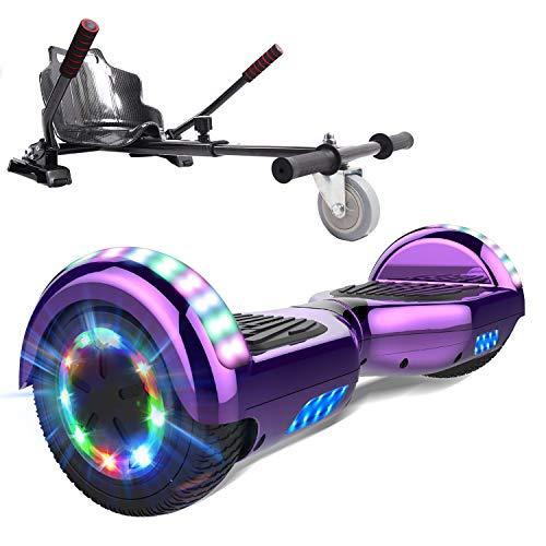 MARKBOARD Self Balancing Scooter 6.5'Skateboard - Eingebaute Bluetooth...