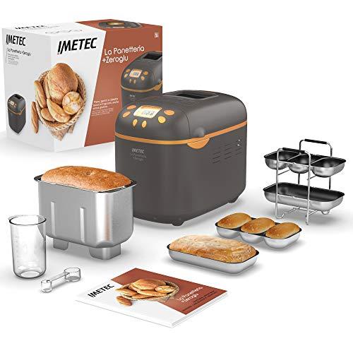 Imetec La Panetteria +Zeroglu, Gerät für Brot, Ciabattas, Brötchen...