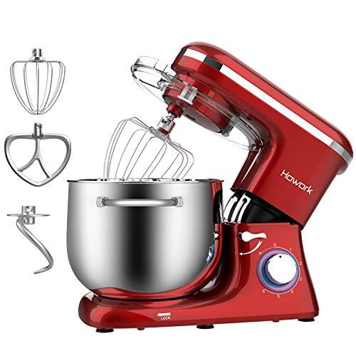 Howork Küchenmaschine 8 Liter 1500W Hohe Leistung Knetmaschine...