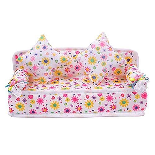 Carry stone Premium Qualität Mini Möbel Blume Sofa Couch Kissen Für...