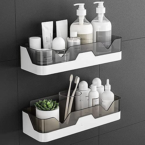 EigPluy 2 Stück Badezimmer Regal, Ohne Bohren Badezimmerregale,...