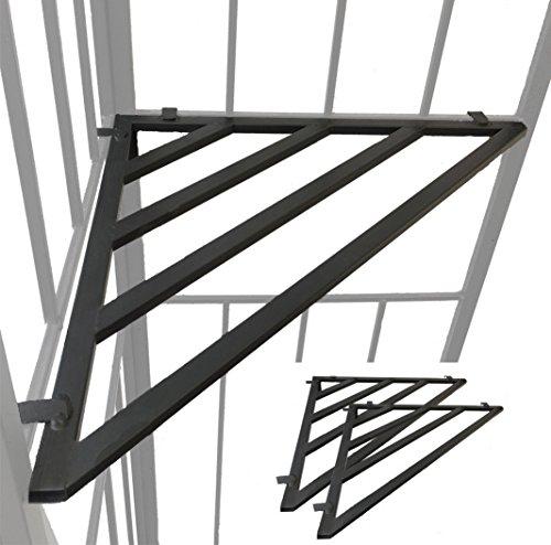 habeig 2X ECKREGAL für Pavillon Ablage Abstellmöglichkeit Regal...
