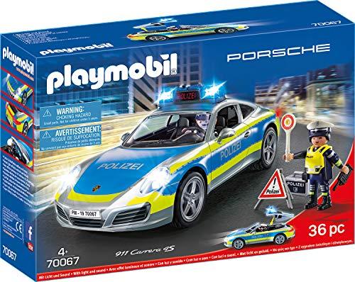 PLAYMOBIL City Action 70067 Porsche 911 Carrera 4S Polizei, ab 4...