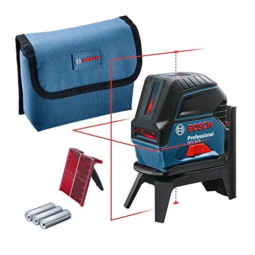 Bosch Professional Kreuzlinienlaser GCL 2-15 (roter Laser,...
