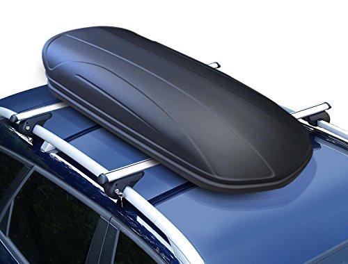 Dachbox VDP-MAA320 schwarz matt Auto-Dachkoffer abschließbar 320...