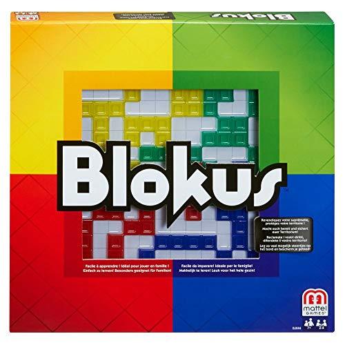 Mattel Games BJV44 - Blokus Strategiespiel und Gesellschaftsspiel,...