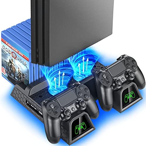 OIVO PS4 Vertical Stand Kühlung Lüfter für Playstation 4/PS4...