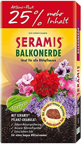 Seramis torffreie Erde, Balkon- und Blumenerde, 731472, Tonfarben, 40...