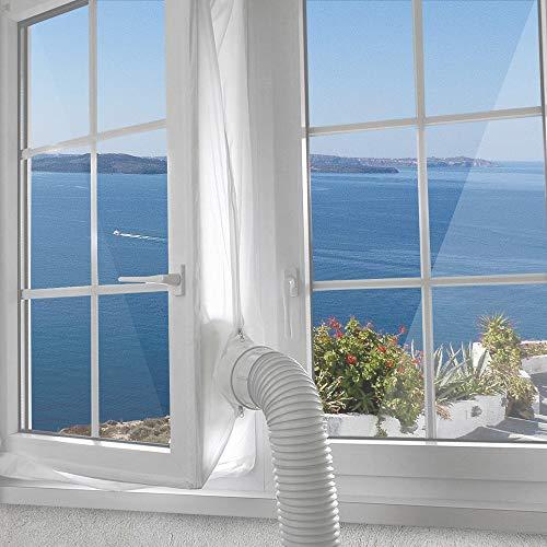 Jajadeal 400cm Universal Fensterabdichtung Für Mobile Klimageräte,...