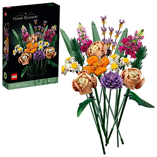 LEGO 10280 Creator Expert Blumenstrauß, künstliche Blumen, Botanik...