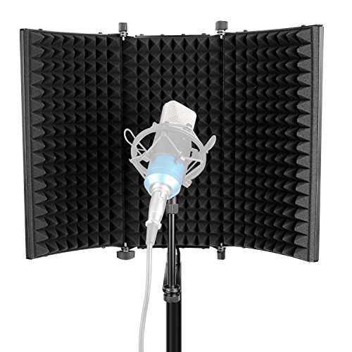 Neewer Professional Studio Aufnahme Mikrofon Isolation Shield...
