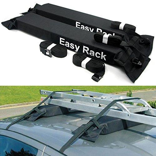 KKmoon Universal-Auto-Gepäckträger für Autos, weich auf dem Dach,...