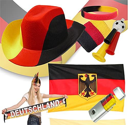 TK Gruppe Timo Klingler XXL Deutschland Fanartikel Set - 7 Teilig,...