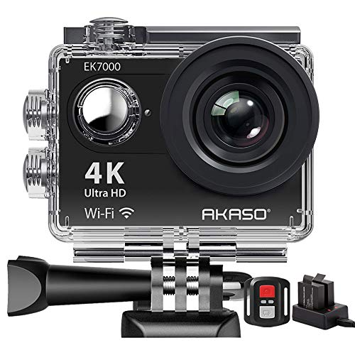 Action Cam,AKASO 4K WiFi Action Kamera/Unterwasserkamera 170°Ultra...