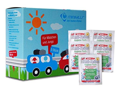 Ecosharkz Notfall-WC Bundle für Kinder für dringende kleine...