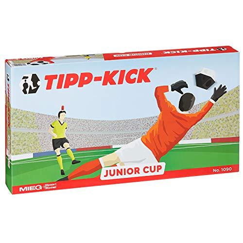 TIPP-KICK Junior Cup mit Bande 83x56 cm – Spielfertiges Set mit 2X...