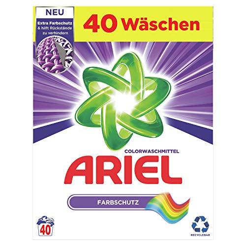 Ariel Waschmittel Pulver, Waschpulver, Color Waschmittel, 40...