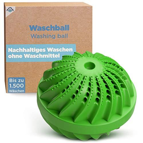 HOME DEPT Waschball Waschkugel für Waschmaschine mit natürlicher...