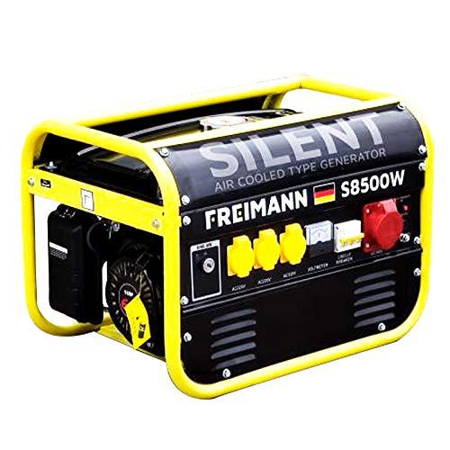 Freimann FM-S8500W Luftgekühlter Benzin Stromerzeuger Generator...