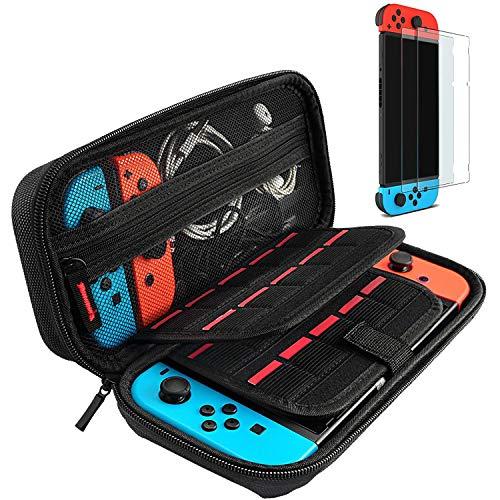 daydayup Tasche für Nintendo Switch, Harte Hülle Case Tragetasche...