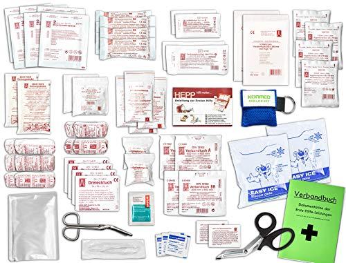Komplett-Set Erste-Hilfe DIN/EN 13 169 PLUS 1 für Betriebe mit...