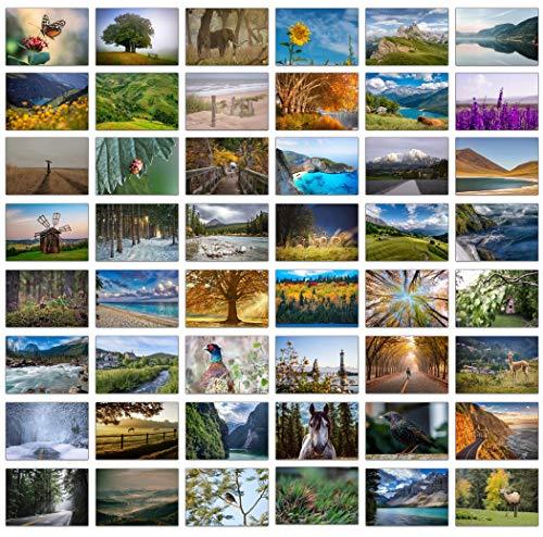 Set bestehend aus 48 Blankokarten/ Grußkarten mit wunderschönen...