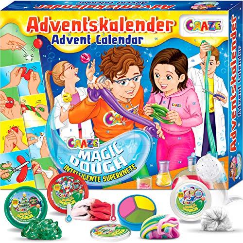 CRAZE Adventskalender 2020 MAGIC DOUGH magische Knete + Zubehör...