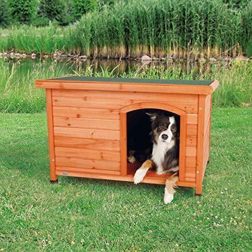 Trixie 39552 natura Hundehütte Classic mit Flachdach, M–L: 104 ×...
