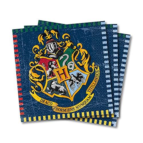 Unique Party Supplies 59102 Papierservietten - 16,5 cm - Harry Potter...