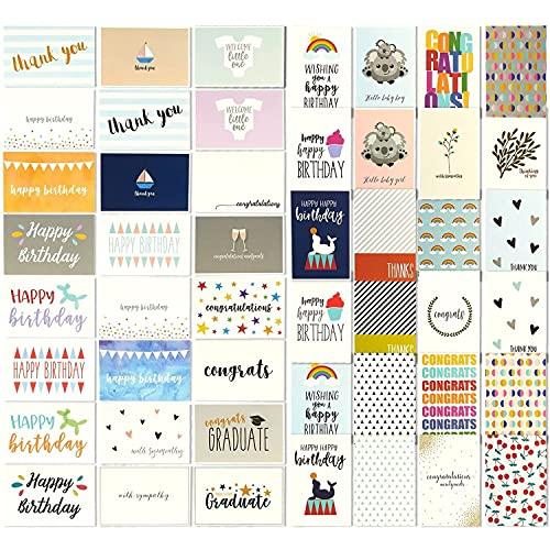 Grußkartenfür alle Gelegenheiten von Best Paper Greetings (48...