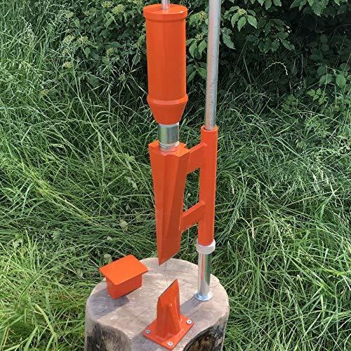 Forest Master© Smart Splitter Holzspalter manuell Typ FMSS Holz...