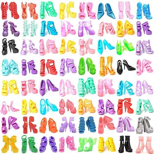 Miotlsy Kleidung zubehör Set 60 Paar Schuhe Zubehör Accessories für...