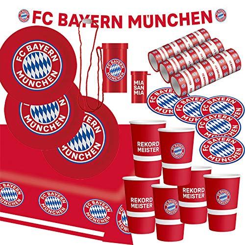 FC Bayern München Party Set · XL Fußball Party Set 34 teilig...