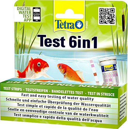 Tetra Pond Test 6in1 (Teststreifen zur Bestimmung von 6 wichtigen...