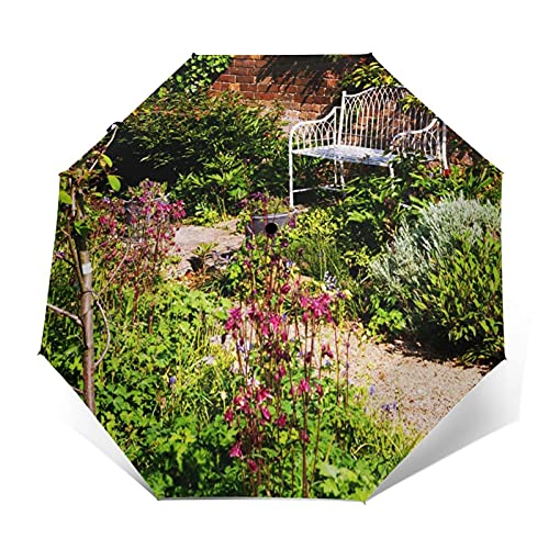 Regenschirm Taschenschirm Kompakter Falt-Regenschirm, Winddichter,...