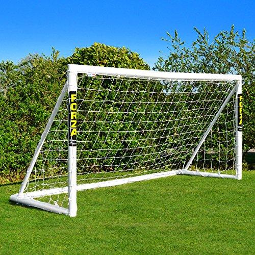 FORZA Fußballtor mit einem Klicksystem – das Fußball-Tor kann das...