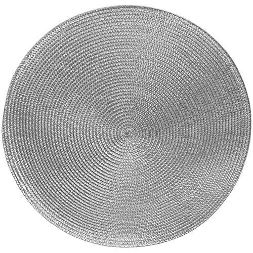 Tischsets Platzsets MARRAKESCH RUND im 4er-Set, Ø 38 cm, abwischbar,...