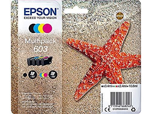 Epson Original 603 Tinte Seestern, WF-2830DWF WF-2835DWF WF-2850DWF...