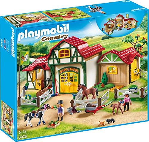 Playmobil Country 6926 Großer Reiterhof, mit viel Zubehör,...