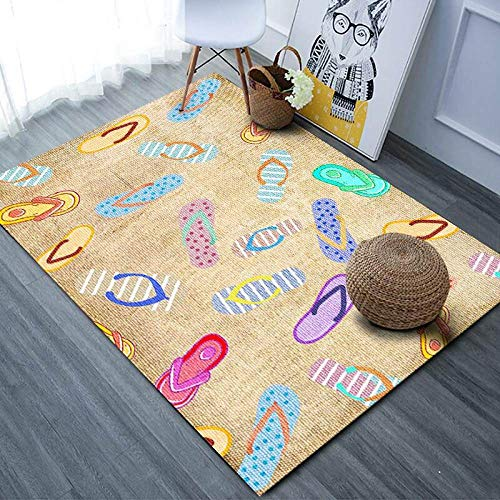 Teppich Wohnzimmer,Gelb,Anti-Großen Teppich Für Kinder Schlafzimmer...
