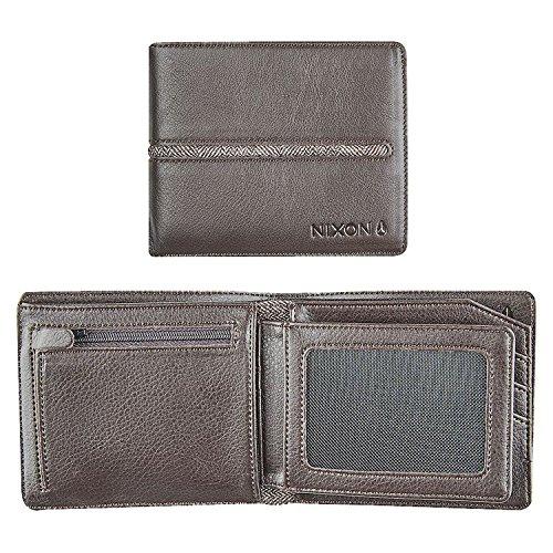 Nixon Coastal Satellite ID Coin Wallet Münzbörse, Schwarz