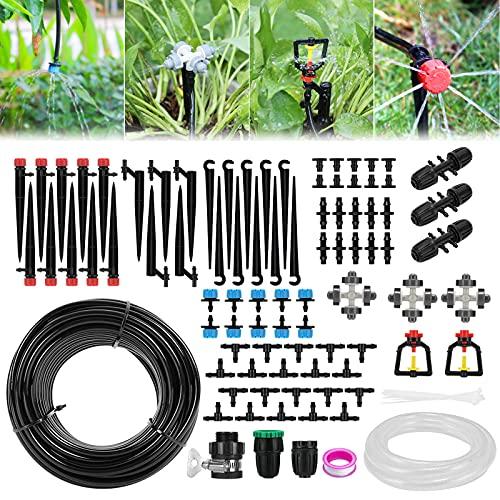 Aiglam Bewässerungssystem Garten, 40M+3M Bewässerungssets Micro Drip...