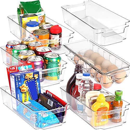 KICHLY Speisekammer Vorratsbehälter - Satz von 6 Behältern (5...